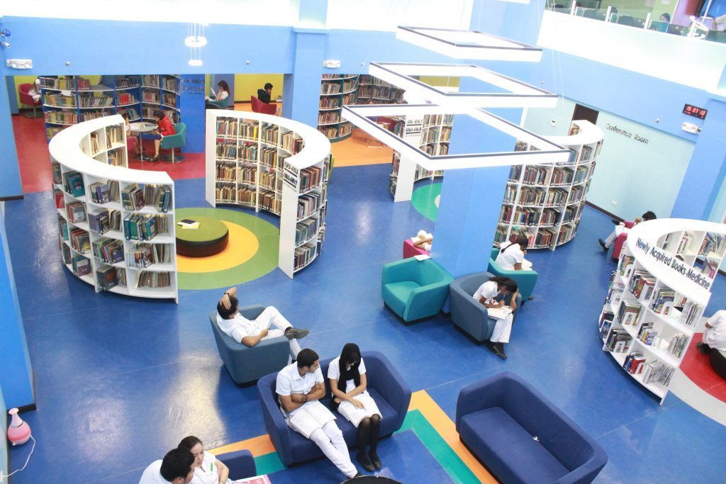 Davao Medical College Library is one of most advanced library in Asia