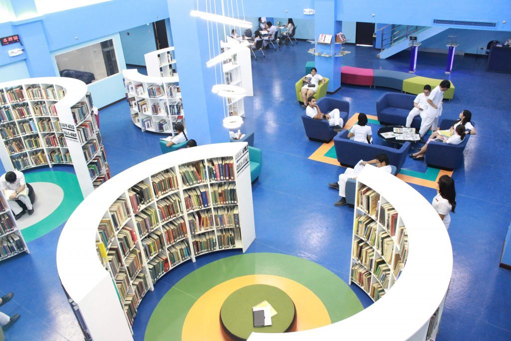 Ultra modern library and other facilities attract Indian students to Choose Davao Medical School Foundation among students looking for MBBS Admission in Philippines