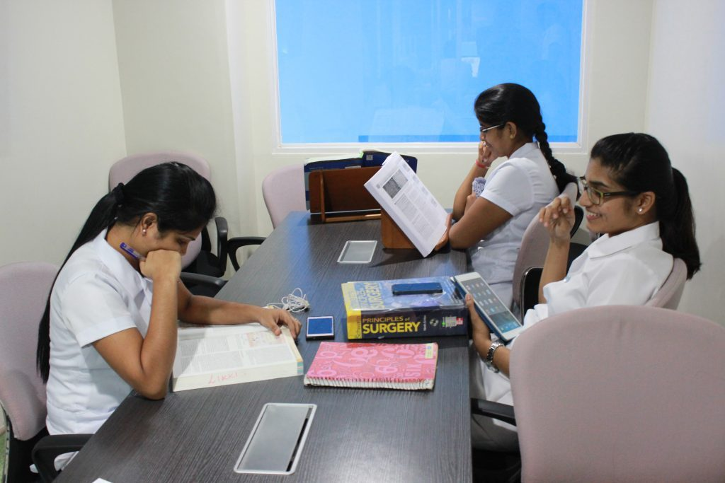 Students in Davao Medical School Foundation