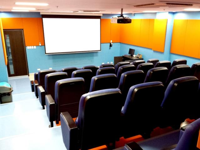 Classrooms in Davao Medical College with smart features