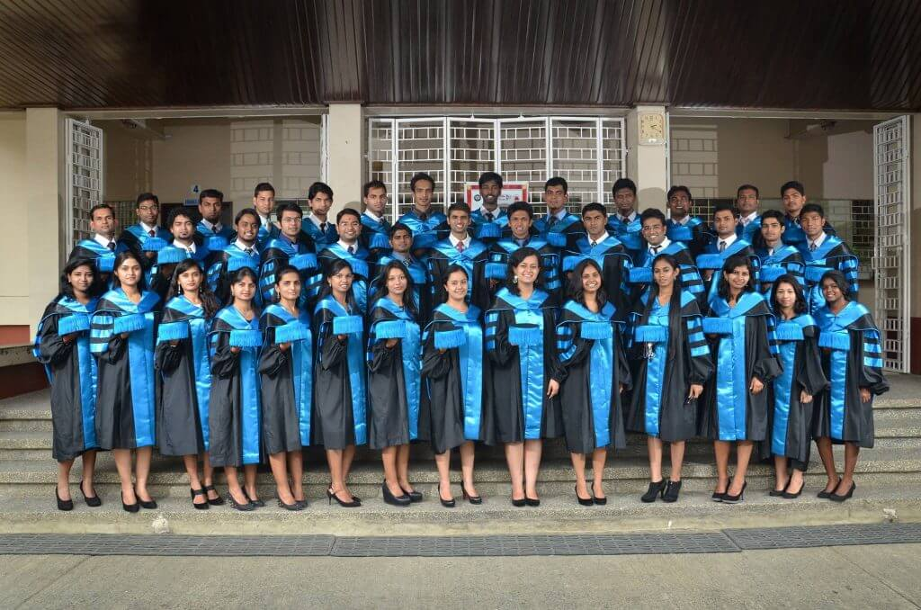 Davao Medical School Foundation Philippines students after their graduation
