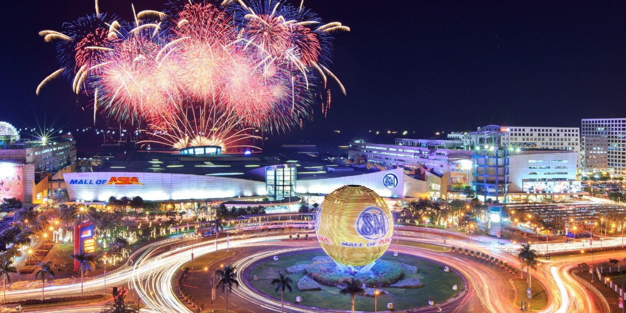 Philippines has one of worlds biggest mall called mall of asia